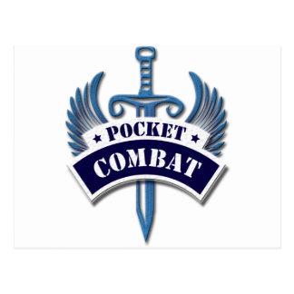 Pocket Combat Postcard