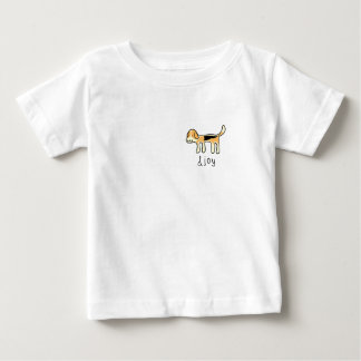 Pocket Cute Beagle Dog &joy Doodle Baby T-Shirt