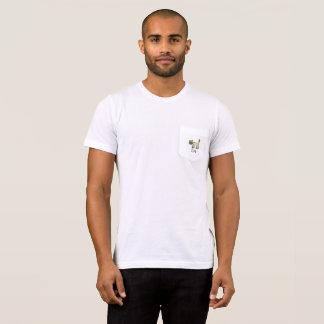 pocket cute Siamese cat & joy doodle T-Shirt
