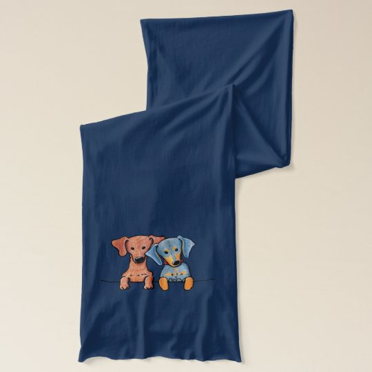 Pocket Doxie Duo Scarf