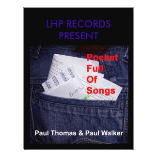 Pocket Full of Songs Promotional Flyer