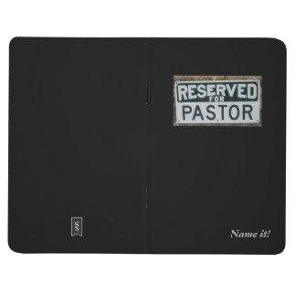 Pocket journal for pastor