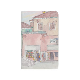 Pocket Journal Italy/Shops Sketch Watercolor