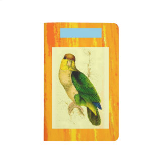 POCKET JOURNAL. PARROTS BY LEAR: PJ1 JOURNAL