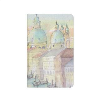 "Pocket Journal "" Venice Sketch Watercolor"