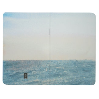Pocket journal with seascape cover