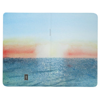 Pocket Journal with Seascape painting
