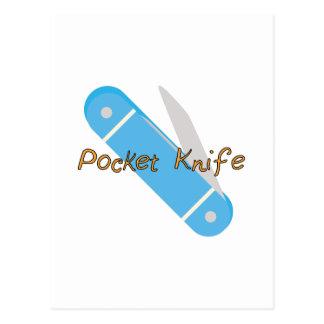 Pocket Knife Postcard