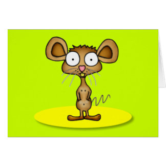 Pocket Mouse Greeting Card