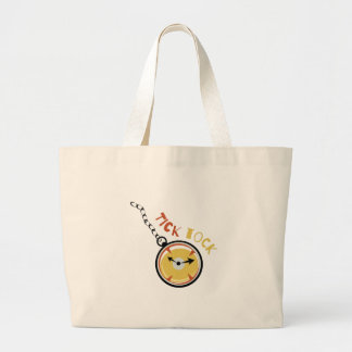 Pocket  Watch  Tick  Tock Tote Bag