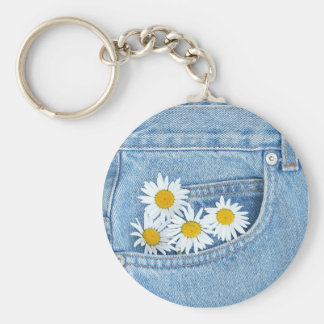 Pocketful of daisies key ring