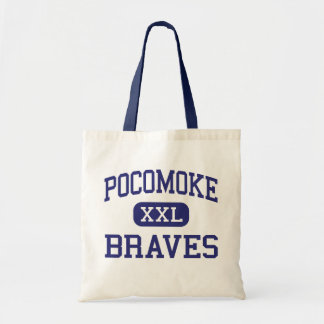 Pocomoke Braves Middle Pocomoke City Bags