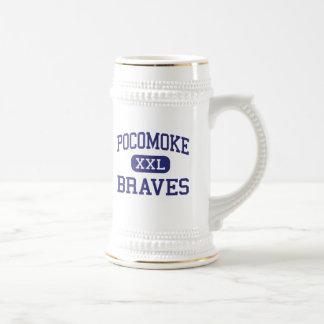 Pocomoke Braves Middle Pocomoke City Beer Steins