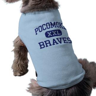 Pocomoke Braves Middle Pocomoke City Dog T Shirt