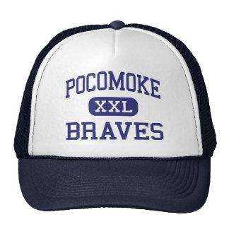 Pocomoke Braves Middle Pocomoke City Hats
