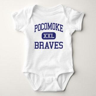 Pocomoke Braves Middle Pocomoke City Infant Creeper