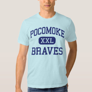 Pocomoke Braves Middle Pocomoke City T-shirts
