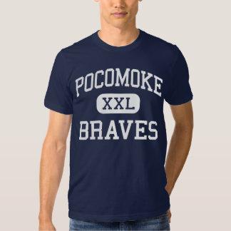 Pocomoke Braves Middle Pocomoke City Tee Shirts