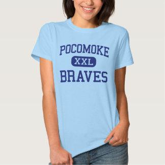 Pocomoke Braves Middle Pocomoke City Tees