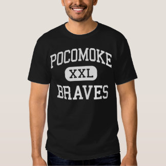 Pocomoke Braves Middle Pocomoke City Tshirt