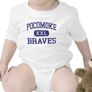 Pocomoke Braves Middle Pocomoke City Bodysuits