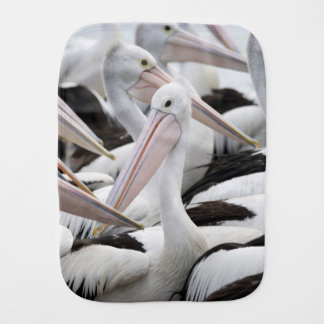 Pod of Pelicans Burp Cloth