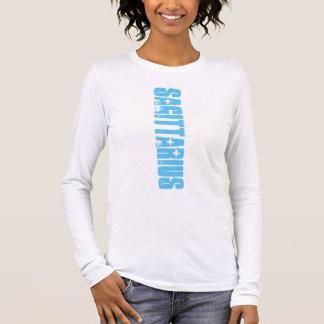 PODALMIGHTY.NET SAGITTARIUS STAR CROSSED LOGO LONG SLEEVE T-Shirt