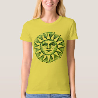 PODALMIGHTY.ROCKS STAR CROSSED SUN SIGN YELLOW T-Shirt