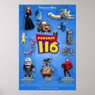 Podcast 116 (Den om Pixar...) Poster