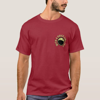 Podcast Gallery T-shirt (Maroon)