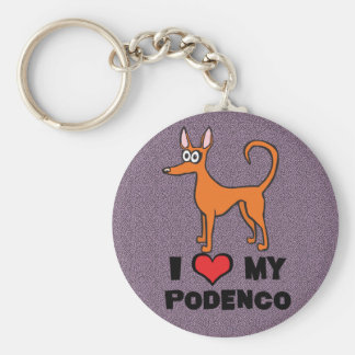Podendo cartoon key ring