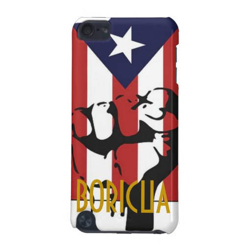 Poder Boricua iPod Touch (5th Generation) Case