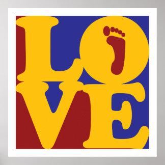 Podiatry Love Poster