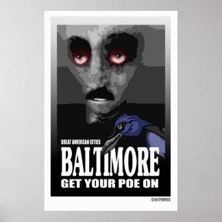 Poe Baltimore poster