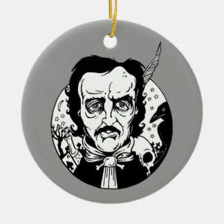 Poe- Ceamic Ornament