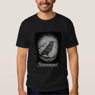 Poe Raven Nevermore Tee Shirts