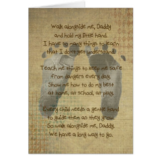 Poem for a Daddy Card