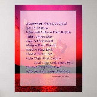 Poem For Prospective Parents Poster
