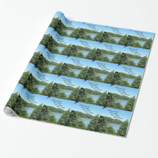 Poem of God's nearness. Wrapping Paper