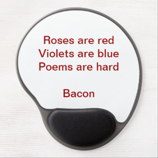 Poems Are Hard Mousepad Gel Mouse Pad