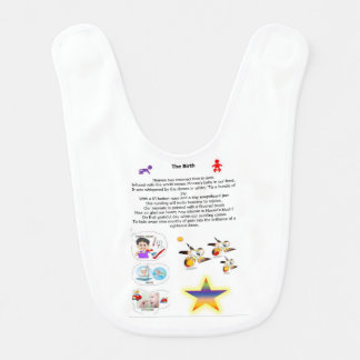 Poems themed for babies bibs