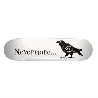 Poe's Nevermore Tribal Raven Custom Skateboard