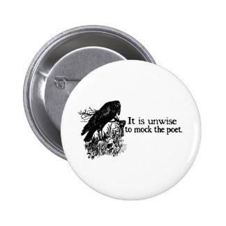 Poet 6 Cm Round Badge