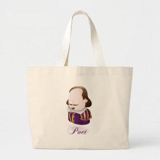 Poet Canvas Bags