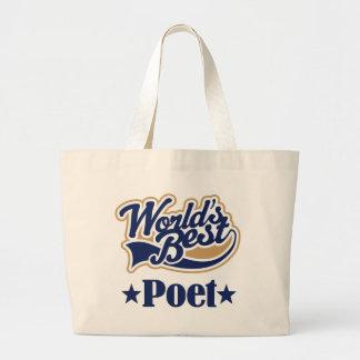 Poet Gift For (Worlds Best) Jumbo Tote Bag