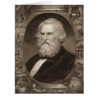 Poet Henry Longfellow 1881 Big Greeting Card