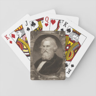 Poet Henry Longfellow 1881 Card Decks