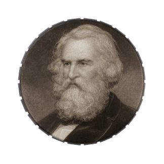 Poet Henry Longfellow 1881 Jelly Belly Tins