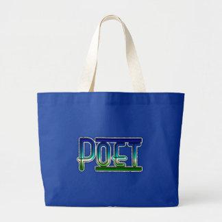 Poet Jumbo Tote Bag