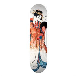 Poet Ono no Komachi 1804 21.6 Cm Skateboard Deck